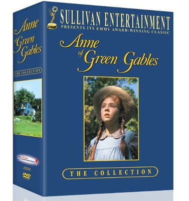 Anne Of Green Gables Complete Collection 4 Discs  New Region 2 **fast Delivery**