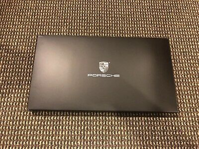 2019 Porsche Gt3Rs Welcome Kit Porsche Principle Hardcover Booklet / Pen