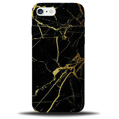 Gold and Black Marble Phone Case Cover | Glitter Design Pattern Look Style B199