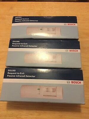 NIB Bosch Security DS150i REX Request to Exit Motion Detector Sealed 3 Available