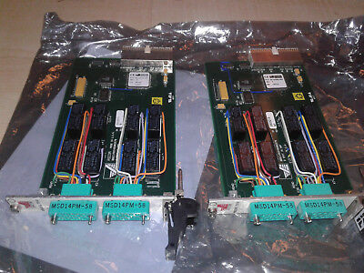 2 PXI Ascor 7010 - 8 SPDT Power Switch Modules