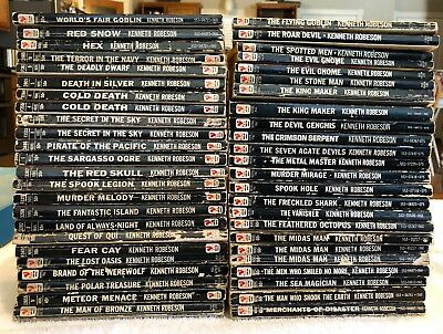 Huge Lot Of The Fantastic Adventures Of Doc Savage By Kenneth Robeson