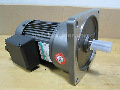 Sesame Motor Chip Auger G11V200U-50 3 Phase 220V//440V Ratio 1:50