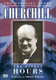 The Official Story Of Churchill - The Finest Hours (DVD, 2005)