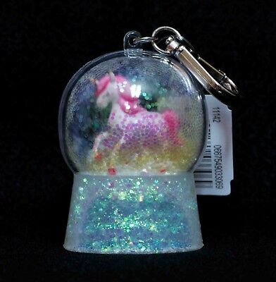 Bath Body Works PocketBac Hand Gel Holder Unicorn Snowglobe