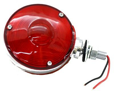 light double face combination 3 screw incandescent red/amber lens 2 wire