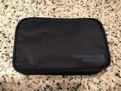 Vintage Continental Airlines Business First Amenity Travel Kit - New Unused