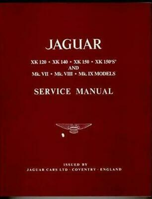JAGUAR G XK140 Wiring Diagram All Years Laminated Color Coded Poster on
