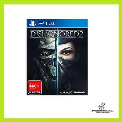 Dishonored 2 for PlayStation 4 PS4 Brand new & sealed
