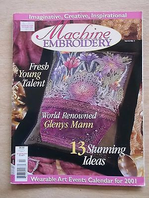 Machine Embroidery Vol 6 #1~Wall-Hanging~Christening~Half-Dolls~Tablecloth~Tote