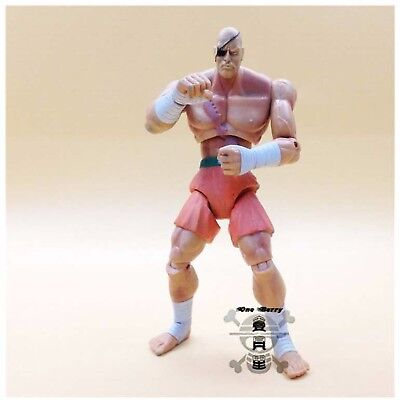 "3.75"" Street Fighter  Series Action Figure  Sagat Movie Toy"