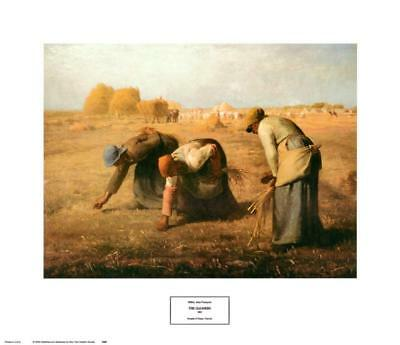 The Gleaners, 1857 Art Print By Jean-François Millet - 27.5x22.5