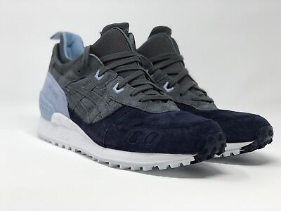 ed694b4b96ed Asics Gel Lyte Mt Sz 11.5 Carbon Light Grey Navy Blue Trail Running Hl7Z1  9797