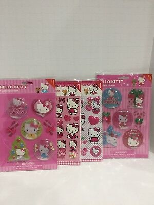 2013 and 2014 Hello Kitty Stickers Lot by Sanrio