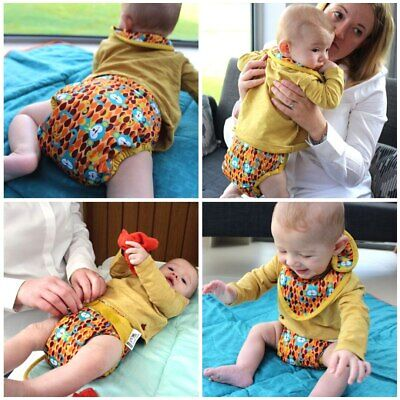 Close Pop-in V2 One Size Bamboo Printed Cloth Nappy NEW