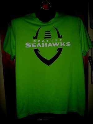 a6745e23edad5 Seattle Seahawks Shirt New Nike Dri Fit Short Sleeve Size Lg Unique! Hot! L