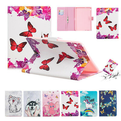 """for Huawei MediaPad T3 10 9.6"""" PU Leather Stand Wallet Flip Magnetic Case Cover"""