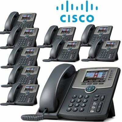 VOIP Cisco SPA525G2 5-Line IP Phone (10 Pack)