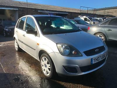 Ford Fiesta 1.4TDCi 2007 (07) Style 5 door £30 road tax silver