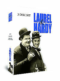 Laurel And Hardy - Triple Pack (DVD, 2012, 3-Disc Set, Box Set)
