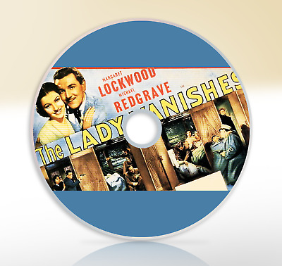The Lady Vanishes 1938 DVD Alfred Hitchcock Mystery Film Movie Margaret Lockwood