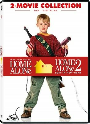 Home Alone 1 & 2 Lost in New York 2 Pack DVD Collection Christmas Comedy Movie