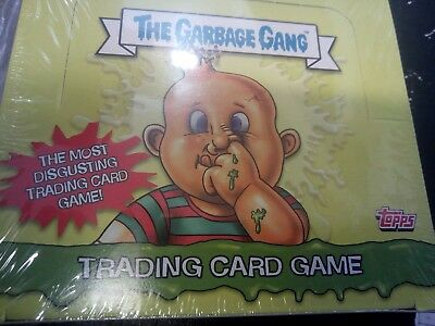 Topps The Garbage Gang Trading Card Full Box 24 packs 2018