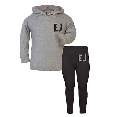 Personalised Initial Lounge Set Children's Tracksuit Custom Girls Boys Baby
