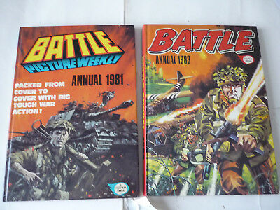 Tw0 Battle  Annuals  1981 & 1983
