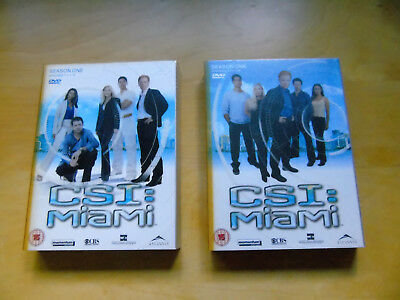 Csi Miami - Complete Season One On Dvd - Uk Purchased - Excellent - Bargain