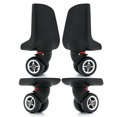 1 pair Replacement Luggage Wheel 360 Rotation Suitcase Spare Caster Repair W078