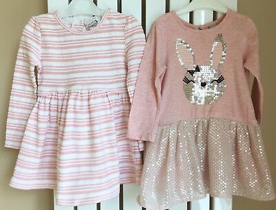 Age 12-18 Months 2 X Dresses From TU