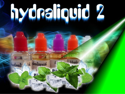 120 ml 2 x 60 ml e liquide   hydraliquid2 ,menthe , fruits,tabac, Red Master .