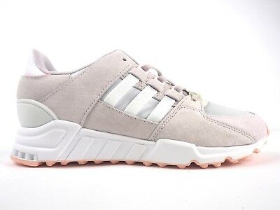 watch 3008c be66c Ladies Adidas EQT Support RF Shoes White Turbo Casual Trainers UK 4.5 EU  37.5