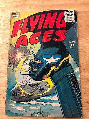 FLYIN' ACES #3 1955 HtF Late Golden Age War Title
