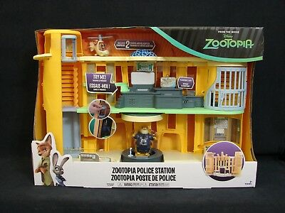 Zootopia Police Station Playset TOMY L70041