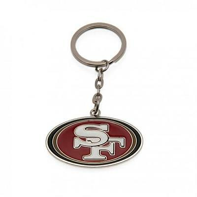 San Francisco 49ers Keyring AMERICAN FOOTBALL FAN SUPPORTER PLAYER GIFT PRESENT