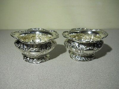 CHANTILLY GRAND by GORHAM Sterling Silver Salt Cellars (LOT of 2)