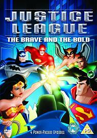 Justice League - The Brave And The Bold (DVD, 2005, Animated)