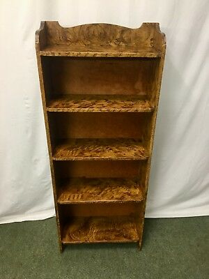 Painted antique style bookcase with 5 shelves #2181L