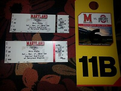 University Of Maryland Vs Ohio State Football Tickets With Parking