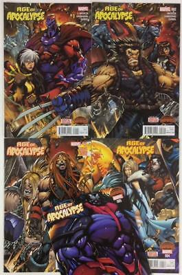 Age of Apocalypse #1 to #5 complete series (Marvel 2015) high grade condition.