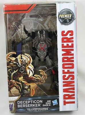 Transformers Premier Edition  Decepticon Berserker The Last Knight Hasbro New