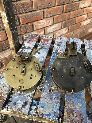 2 French Clock Movements AD Mougin Hp&c
