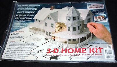 Elegant Design Works 3 D Home Kit All You Need To Construct A Model Of