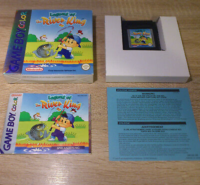 Gameboy Color (GBC) //  Legend of the River King GB + OVP + Anl. // dt. PAL CIB
