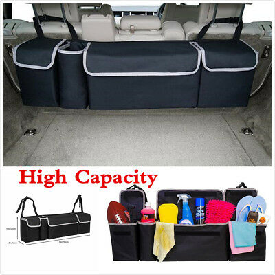 High Capacity Multi-use Oxford Car Seat Back Organizers Interior Accessories