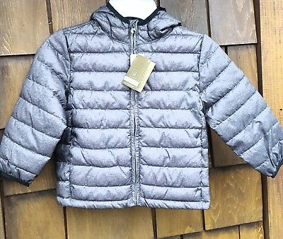 6a557cef8 BABY GAP BOYS Size 3T Hooded Jacket Grey Blue -  2.50