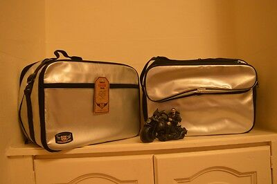 BMW R1200 GS WATER-COOLED LC 2013 Onwards pannier liners luggage bags SILVER