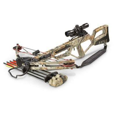 Mtech Usa Falcon 185 Lb Pull Dx Extreme Camo Composite Crossbow With Scope New